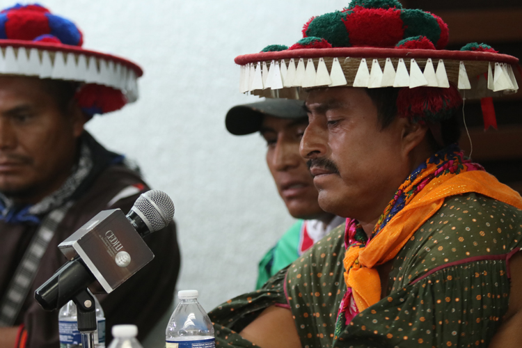 Exigen restitución de tierras para wixárikas  (Jalisco)