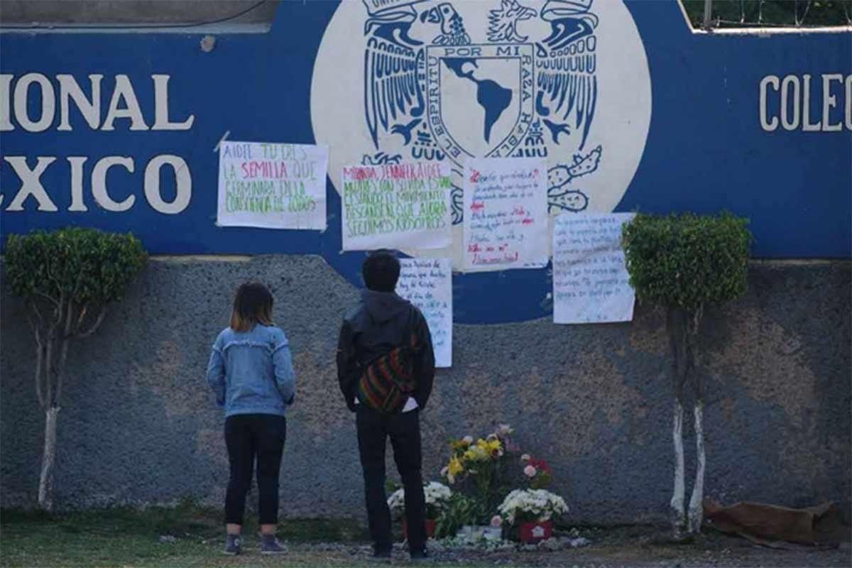 ¿De dónde vino la bala que mató a Aideé en CCH Oriente? (Ciudad de México?