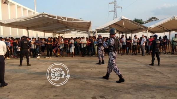 Repatriación genera tensión entre migrantes en Acayucan (Veracruz)