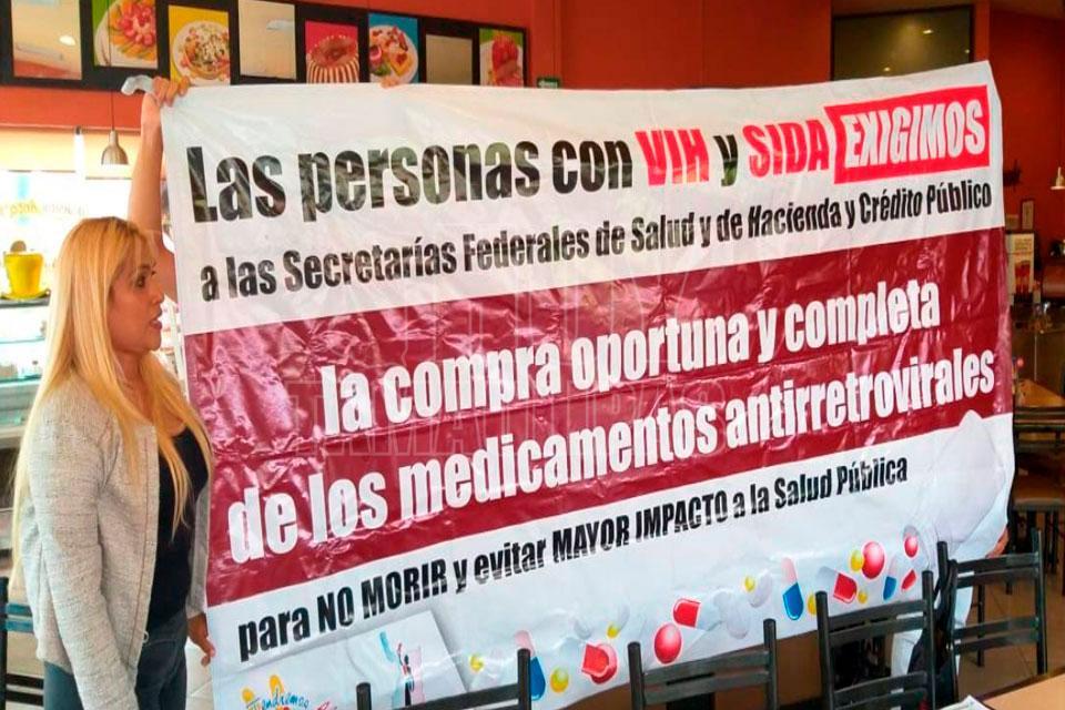Amenazan en Altamira con llevar a muertos por SIDA ante AMLO (Tamaulipas)