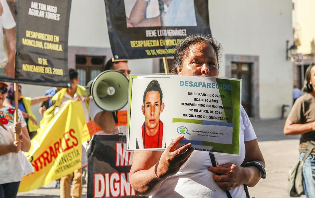 Madres de desaparecidos en Querétaro exigen justicia