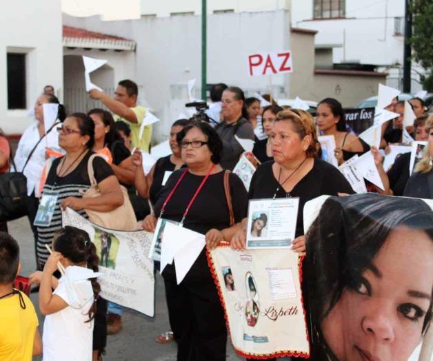 Desfilarán colectivos por los desaparecidos (Tamaulipas)