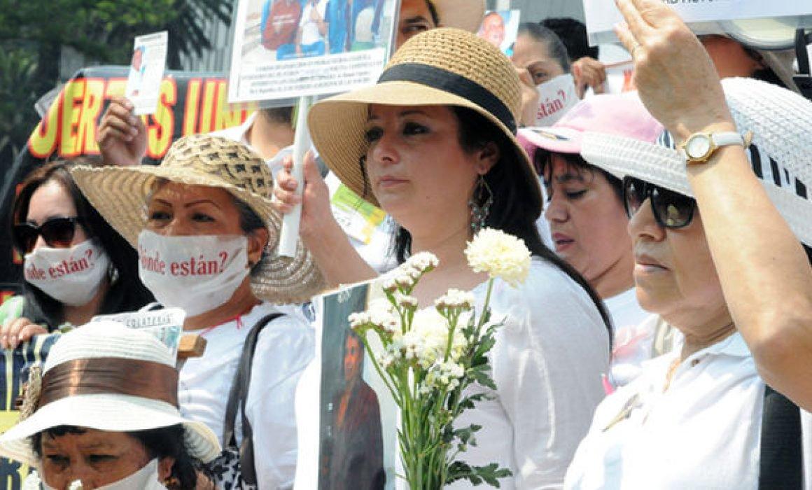 Se pronunciarán madres con hijos desaparecidos este 10 de mayo en Querétaro