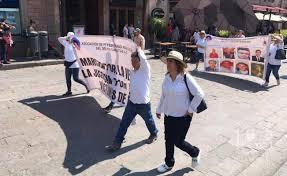 Marchan por los Desaparecidos en SLP