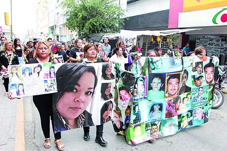 Recuerdan madres a sus hijos desaparecidos (Tamaulipas)