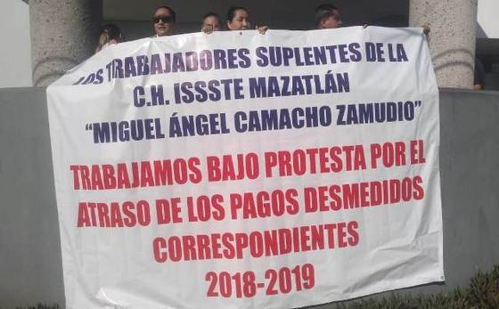 Recortes austeros afectan al ISSSTE en Mazatlán (Sinaloa)