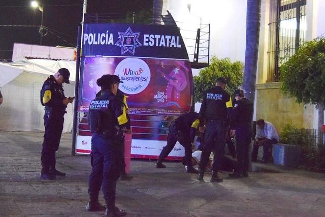 Denuncian abusos de policía estatal de Aguascalientes en la FNSM ante derechos humanos