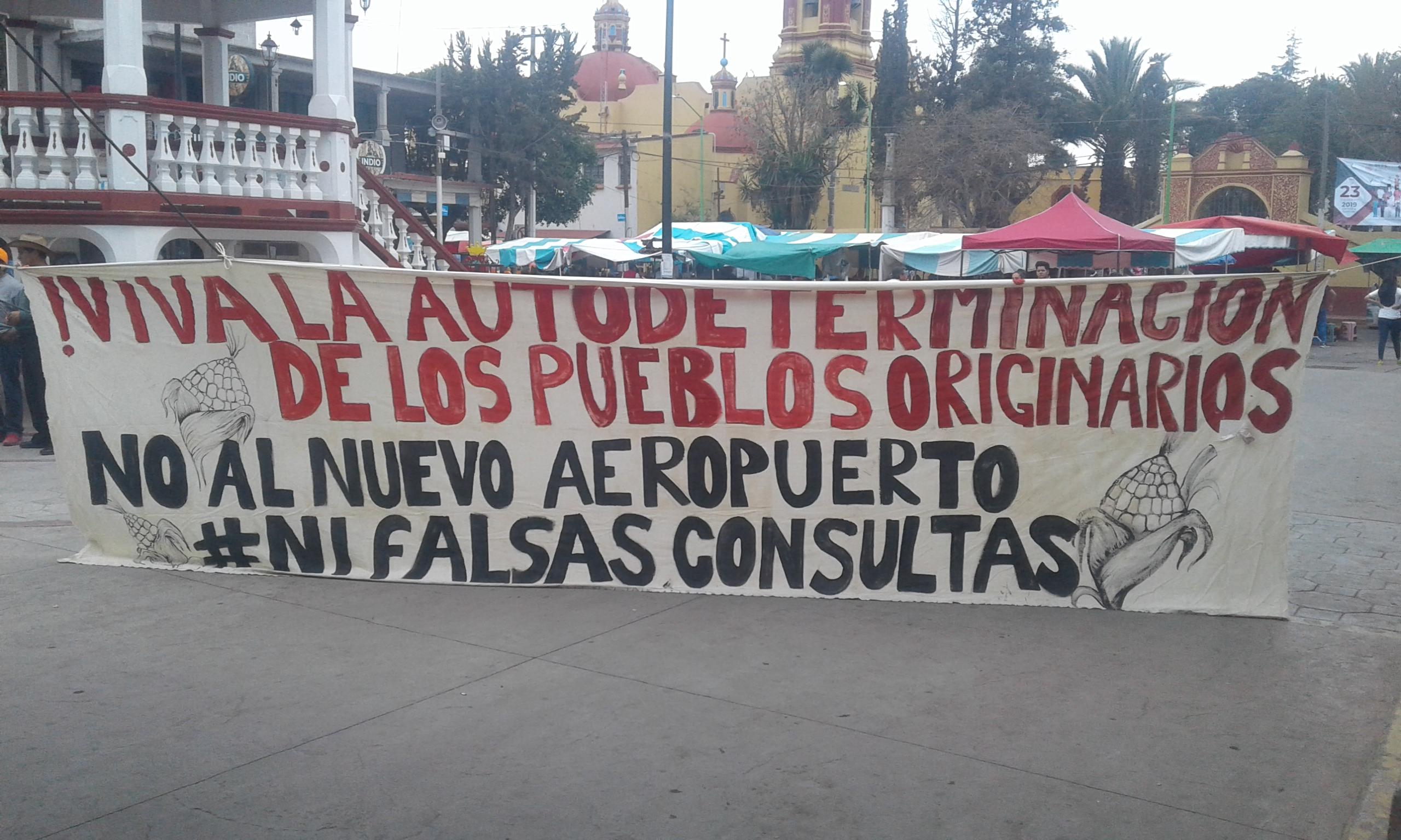 Desprecio, intimidación y ecocidio, afectaciones a los pueblos originarios por la construcción del aeropuerto en Santa Lucía (Estado de México)