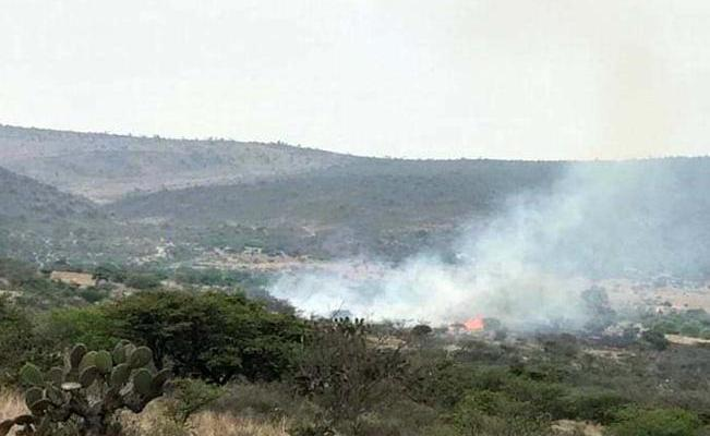 Ecologista acusa a desarolladores por incendio en Peña Colorada (Querétaro)