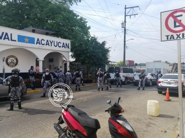 Resguardan a 35 migrantes en Acayucan; 'polleros' detenidos (Veracruz)