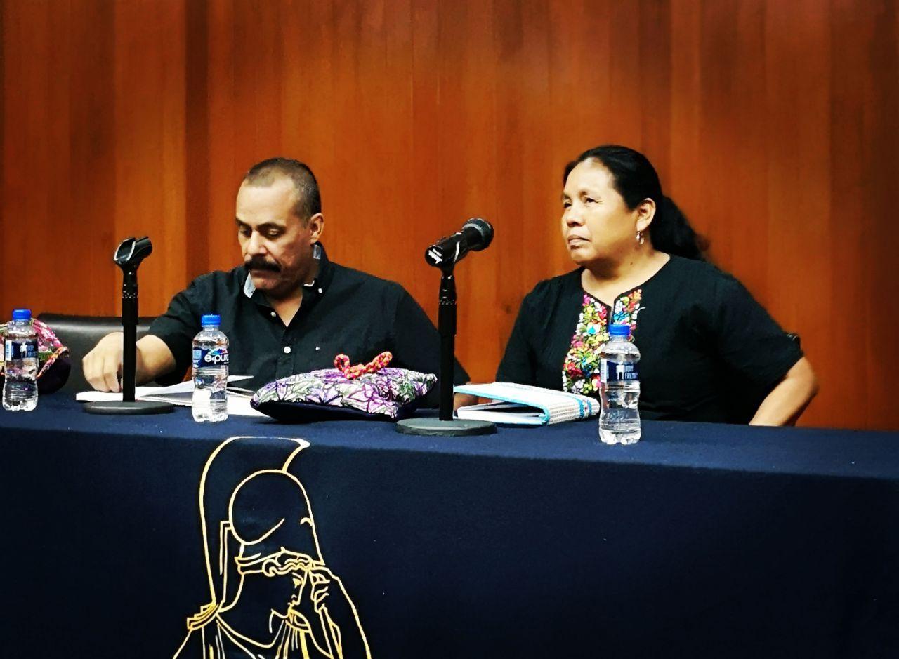 """""""Organizarse para vivir"""": Marichuy en la Facultad de Filosofía y Letras de la UNAM"""