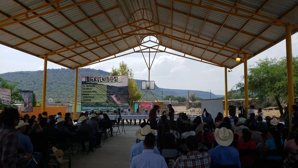 ONG y pobladores de ocho estados respaldan movimiento contra presa Milpillas en Zacatecas