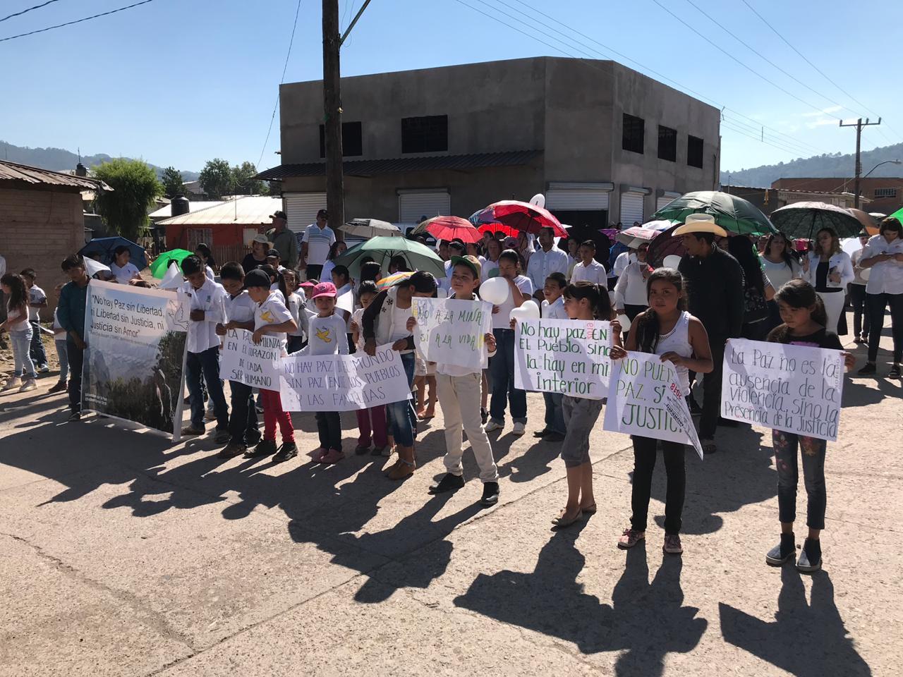 Baborigame se levanta para recuperar la paz de su comunidad (Chihuahua)