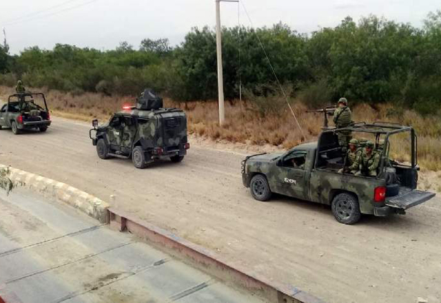 Llegan tropas especiales (Tamaulipas)