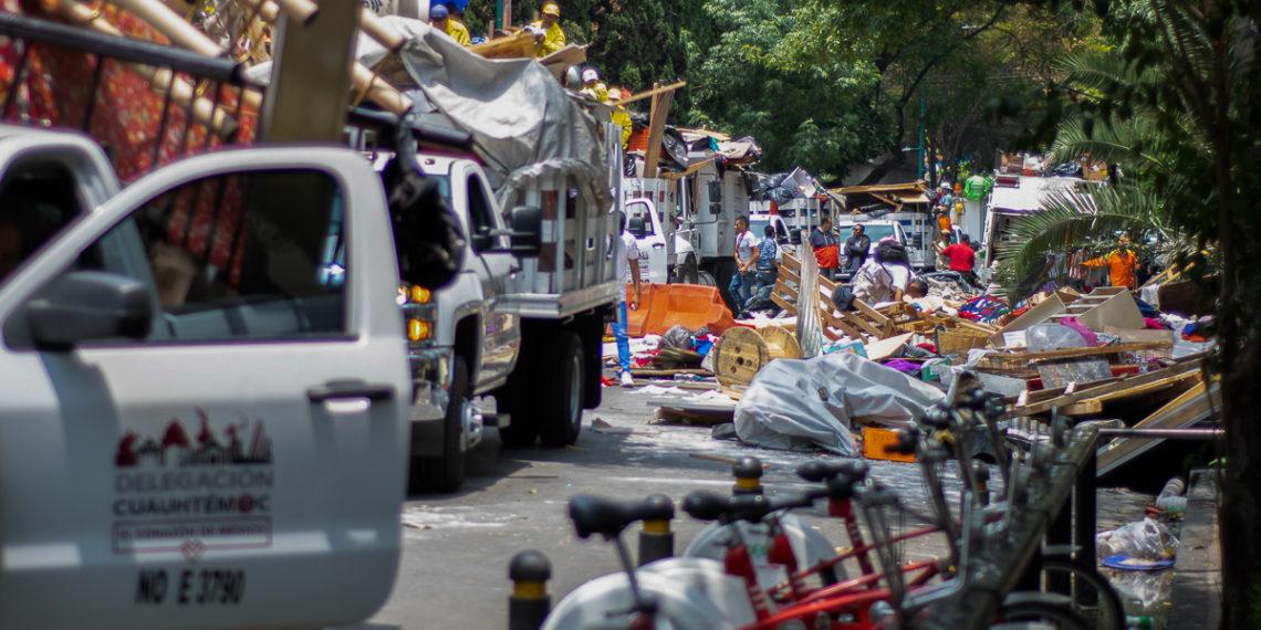 Puerta abierta a inmobiliarias para realizar desalojos (Ciudad de México)