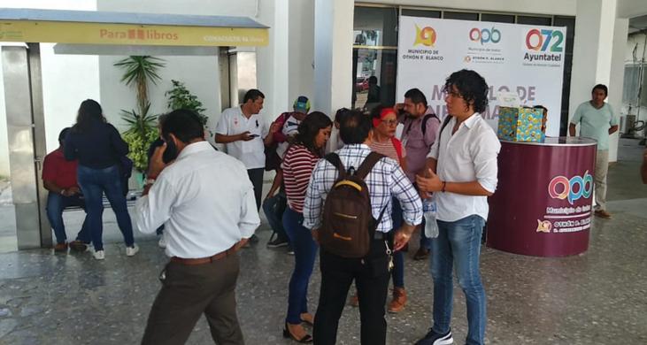 Paro de labores de trabajadores de Fiscalización en OPB; no habrá quien supervise cumplimiento de la 'ley seca' con motivo de la elección del domingo (Quintana Roo)