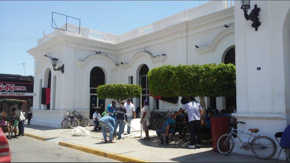 MAZATLÁN Sindicalizados inician huelga en la Jumapae (Sinaloa)
