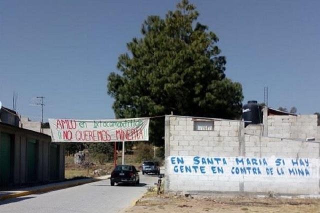 Mina desaparecerá comunidad en Ixtacamaxtitlán, acusan (Puebla)