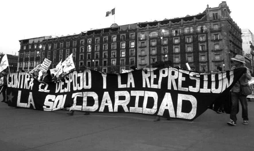 Una red de resistencia extendida por el mundo:  Las Jornadas de lucha y acción global contra la militarización en territorio zapatista y en defensa de la tierra, territorio y autonomía de los pueblos y comunidades indígenas del CNI-CIG