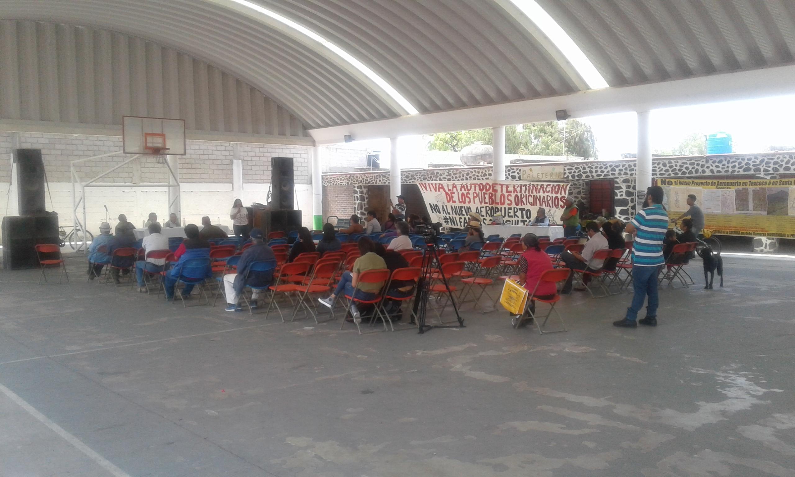 No al aeropuerto, ni Santa Lucía, ni Texcoco, la lucha es por la vida (Estado de México)