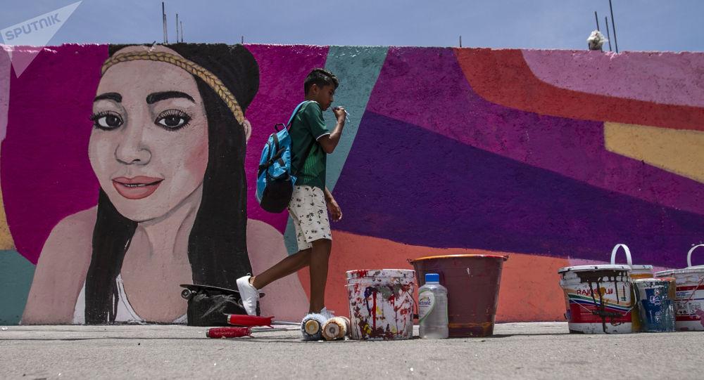Los rostros de desaparecidos toman los muros de Ciudad de México