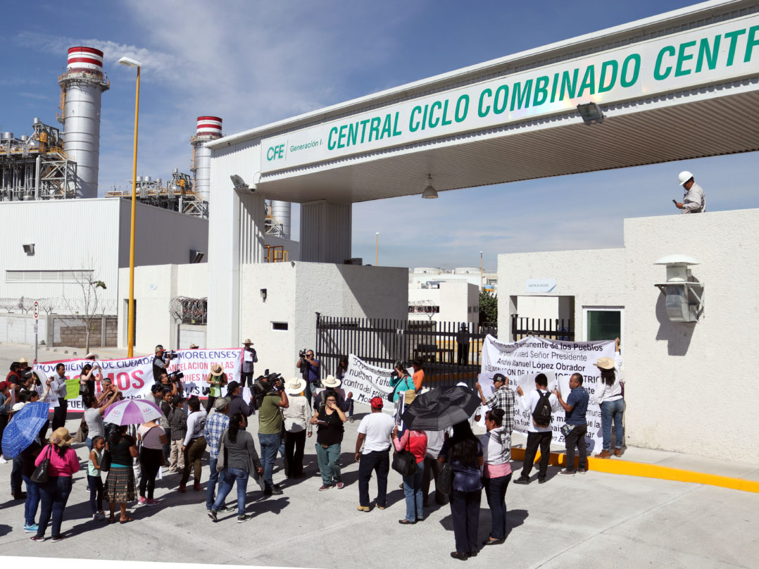 Exigen encuentro con AMLO para hablar sobre termoeléctrica y gasoducto en Morelos