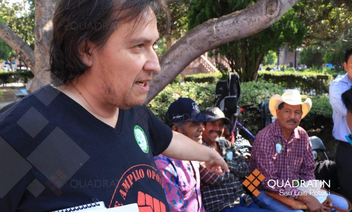 Levantan 25 mil firmas contra la venta de terrenos en la sierra  (San Luis Potosí)