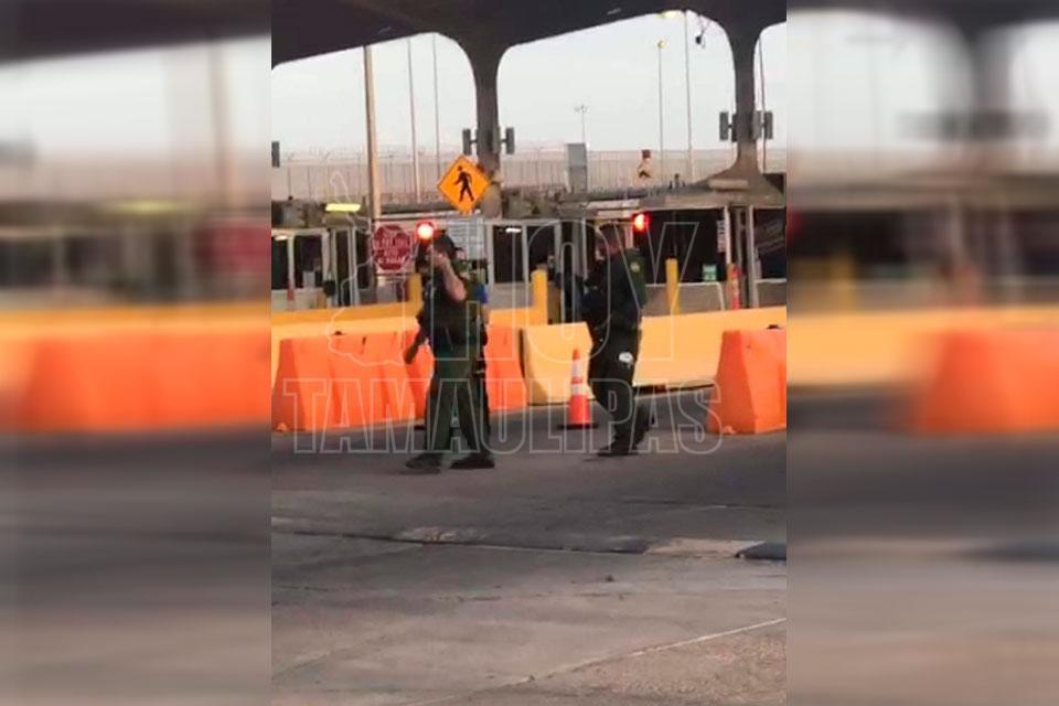 Cierran Puente Reynosa – Hidalgo; se amotinan cubanos (Tamaulipas)