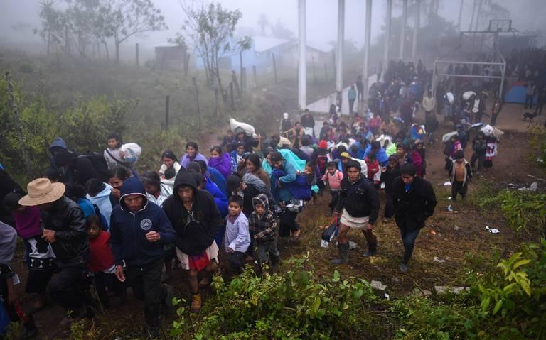 Hubo en Michoacán 240 desplazados en 2018