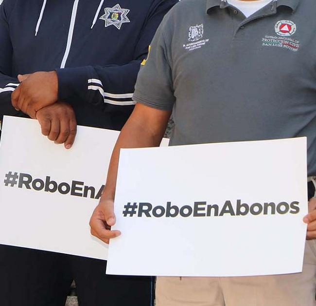 Denuncian trabajadores municipales por desfalco en pago de préstamos (San Luis Potosí)