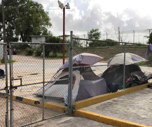 Enfrentan migrantes necesidades básicas. Varadas 2,165 personas (Tamaulipas)