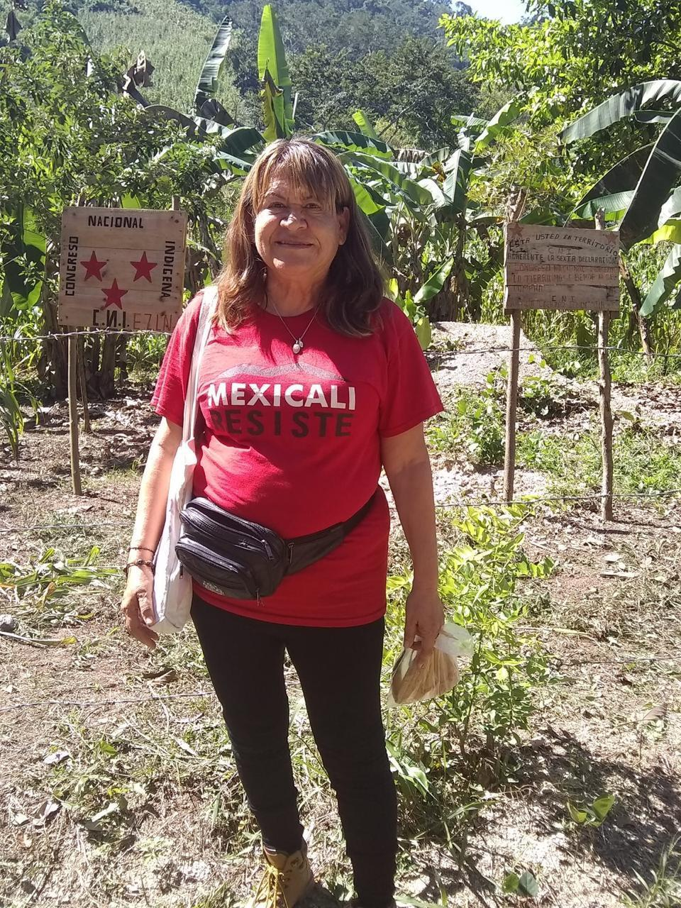 Arrestan a activista Silvia Resendiz con sus dos nietas en garita de Calexico-Mexicali (Baja California)