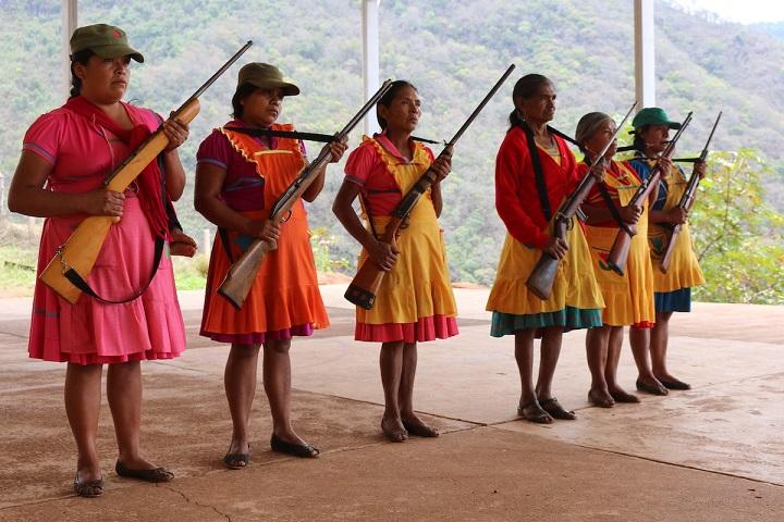 En Rincón de Chautla los niños no van a pelear pero saben defenderse (Guerrero)