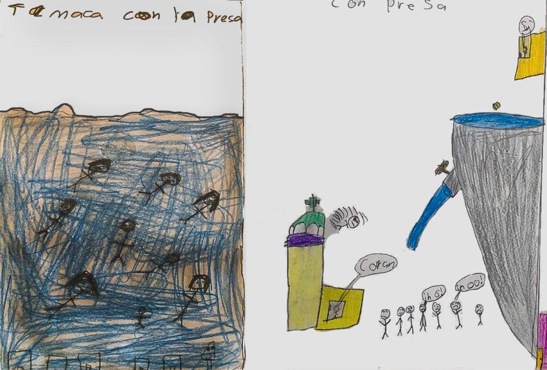 Niñas y niños, los más afectados por la imposición de la presa El Zapotillo (Jalisco)