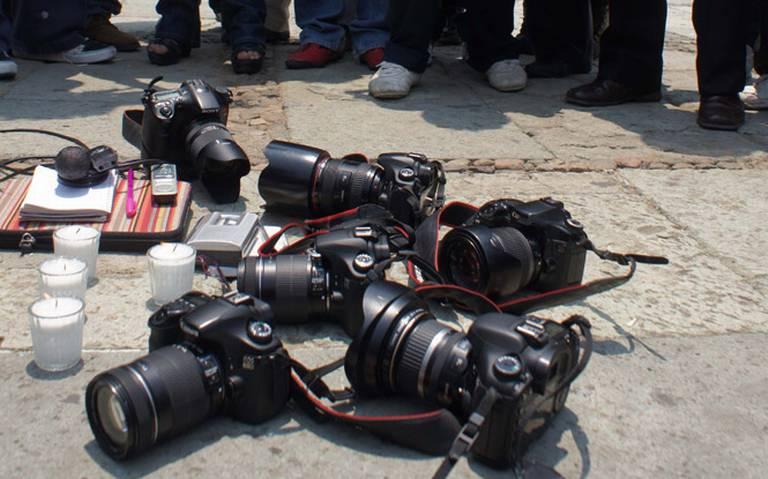 Periodistas exigen respeto a la la labor de informar a la sociedad (Estado de México)