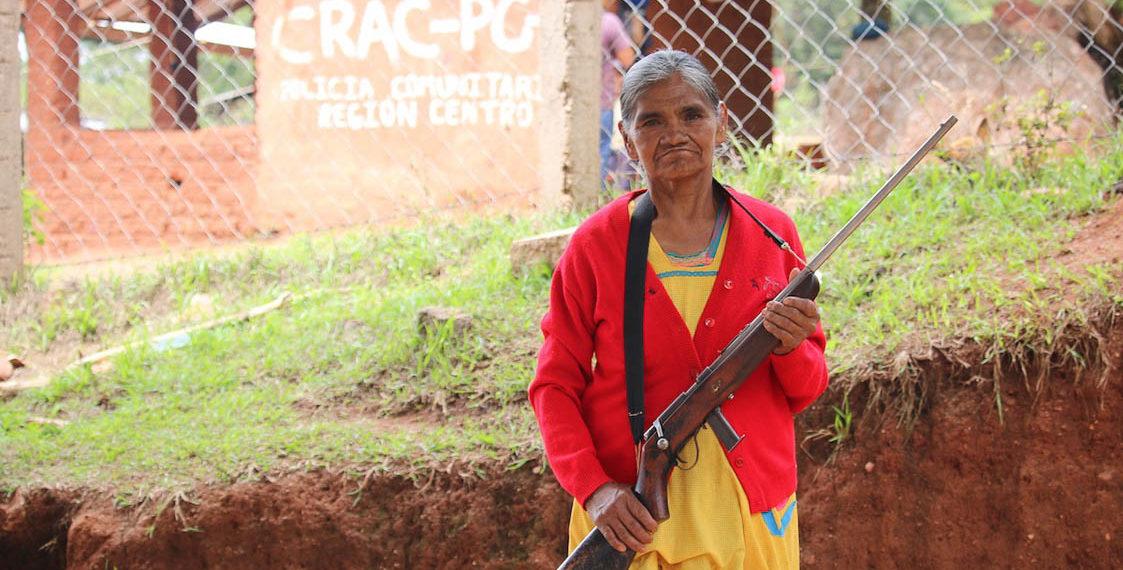 Escolástica Luna, de la petición de justicia al adiestramiento (Guerrero)