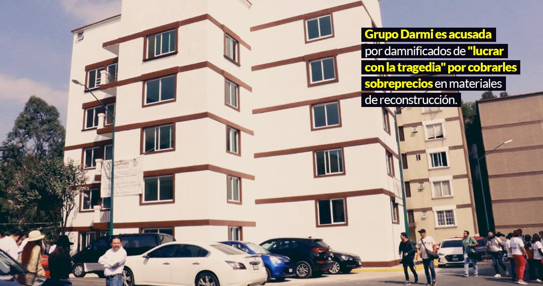 Damnificados del sismo acusan a constructora de venderles la reconstrucción con sobreprecio