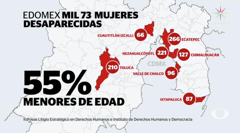 El Estado de México y sus mujeres desaparecidas: los casos van en aumento