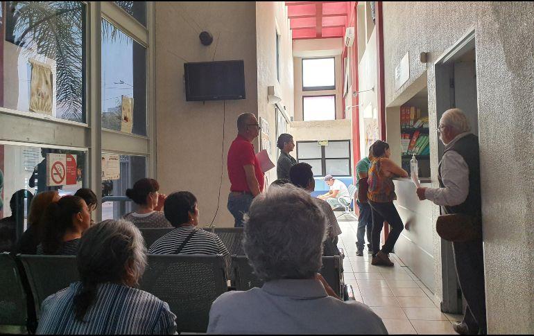 Usuarios del Ipejal padecen escasez de medicamentos (Jalisco)