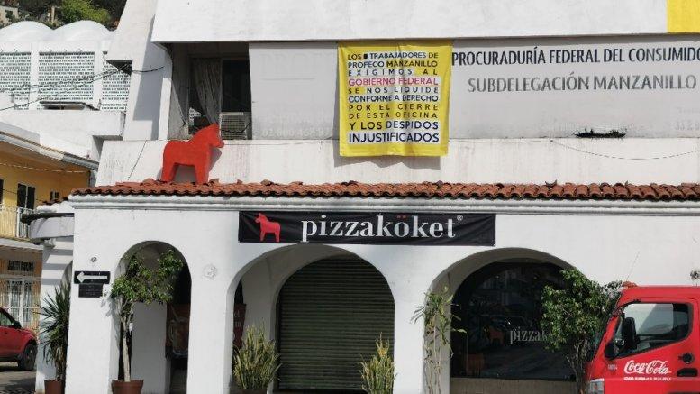 Exigen liquidación justa trabajadores de Profeco (Colima)