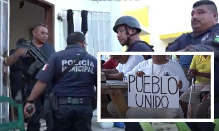 Corren a polis de Mahahual, Quintana Roo, por extorsionar a turistas