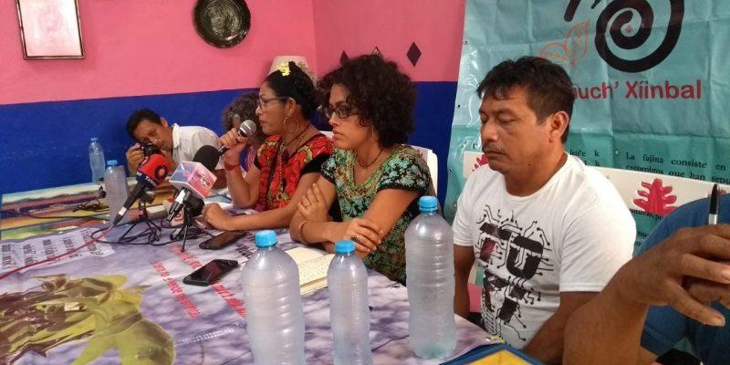 Activistas reprueban y condenan reunión sobre energéticos (Video) (Yucatán)