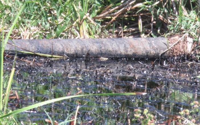 En Cumuapa se extiende derrame de crudo (Tabasco)
