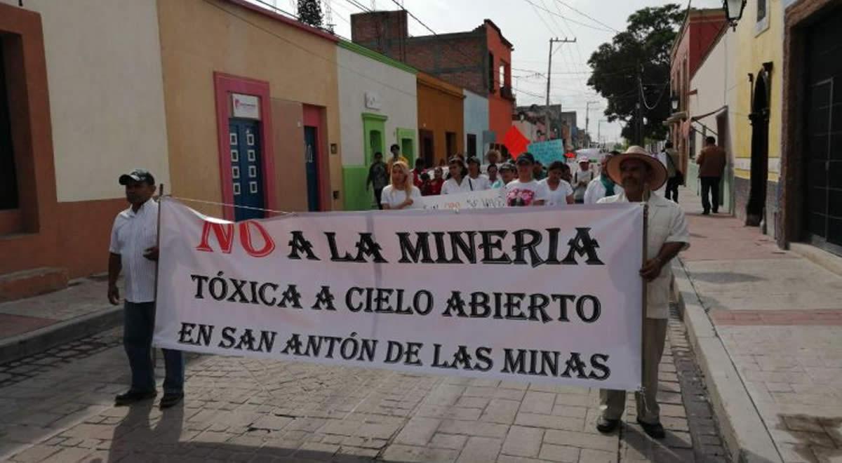 Comunidades de Guanajuato se movilizan contra minera Argonauta Gold