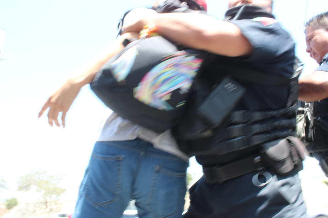 Agreden policías de Tijuana a dos fotoperiodistas (Baja California)
