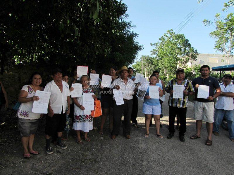 Con fuerza pública desalojan de sus casas a 14 familias en Peto (Yucatán)