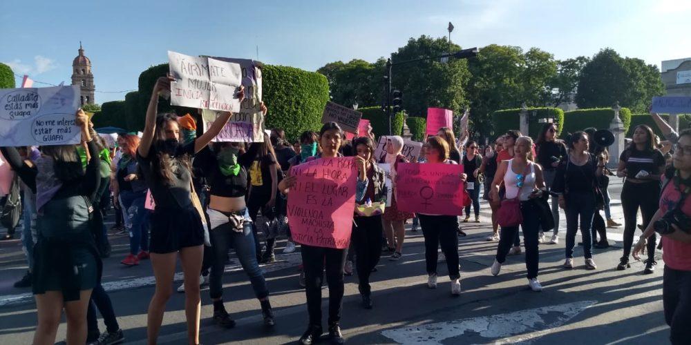 Disculpen las molestias, pero nos están matando: feministas (Michoacán)