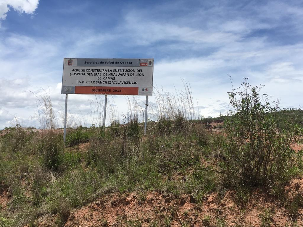 Los hospitales fantasmas de Peña y Cué que solapan AMLO y Murat. Segunda parte (Oaxaca)