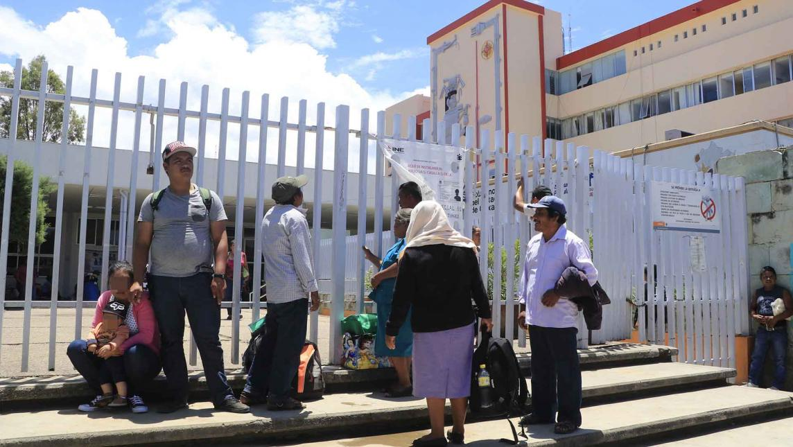Programan paro hoy en el Hospital Civil (Oaxaca)