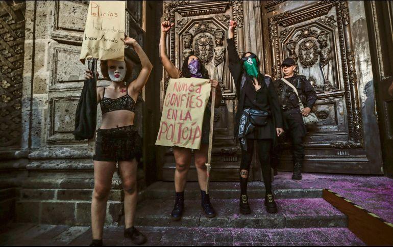 Se solidarizan por violencia contra las mujeres (Jalisco)